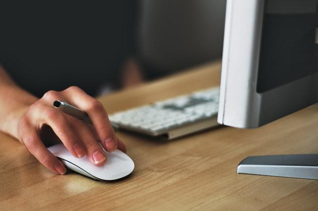 γραφειο υπολογιστης στη δουλειά