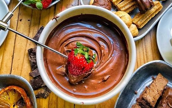 φοντί σοκολάτας