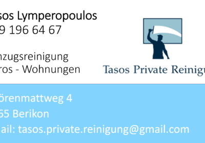 Tasos Private Reinigung 1
