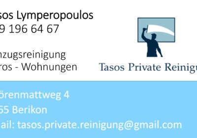 Tasos Private Reinigung 1