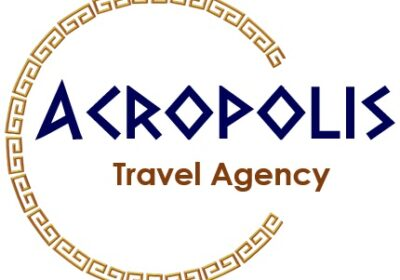 acropolis travel logo